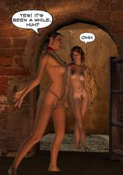 Nude 3d models